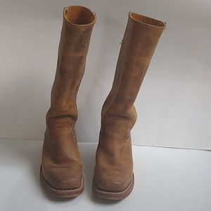FRYE campus boots size 7 1/2